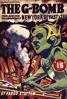 The G-Bomb (1952) - Vargo Statten [John Russell Fearn]