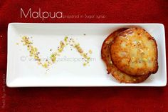 Bengali Malpua is a fried pancake dipped in Chashni, served with rabdi. Tried and tested recipe with video and images. Indian Desserts, Fries, Recipes, Ripped Recipes, Cooking Recipes, Medical Prescription, Recipe