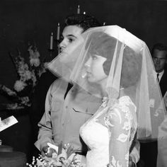 Singer/actor Tommy Sands and Nancy Sinatra at their wedding at the Sands Hotel in September Photo: University of Nevada, Las Vegas University Libraries. Love the pillbox hat. Very Jackie Kennedy. Wedding Dress Pictures, Wedding Images, Wedding Pics, Wedding Dresses, Wedding Ideas, Celebrity Wedding Photos, Celebrity Couples, Celebrity Weddings, Hollywood Wedding