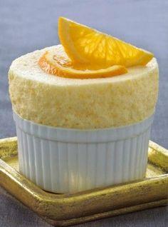 Lemon Soufflé- another fantastic way to use up my Meyer lemons!
