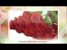 Online flowers delivery in Mysore