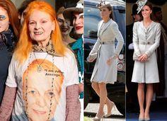 Eco-friendly: Vivienne Westwood acha que Kate Middleton deveria repetir mais as roupas | Chic - Gloria Kalil: Moda, Beleza, Cultura e Comportamento