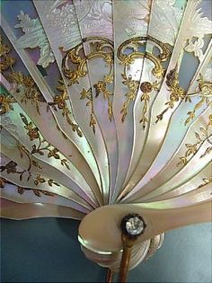 Antique fan