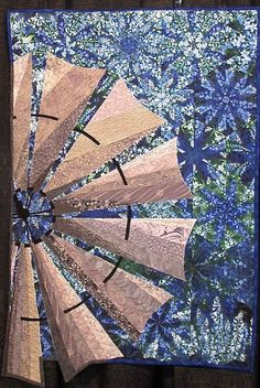 Windmill on Bluebonnet Hill by Kay Marburger