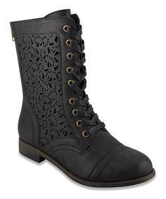 Look what I found on #zulily! Black Joyer Boot by Rampage #zulilyfinds