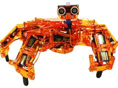 Introducing Hexy, a DIY robot you don't need a PhD to figure out