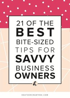 Imagine having an amazing set of tips to help you run your business, right at your fingertips. You know they're always there when you need them and more importantly, you know they work. Well, that's exactly what you're going to get right now.   If you're reading this as a savvy business owner, then you'll know that running a business is hard. You've got to wear all the hats. Out there on the web, there are thousands of articles on things to help you and your business improve. But what about…