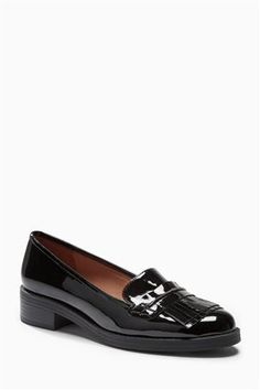 Buy Grey Fringed Loafers from the Next UK online shop