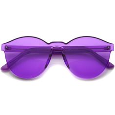 - Description - Measurements - Shipping - Futuristic block cut sunglasses features an all-lens build made from a single piece of colorful translucent material. Simultaneously functional and stylish, t
