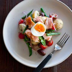 Smoked Salmon Nicoise Salad By Nadia Lim
