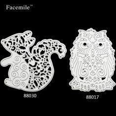 Gift 1PCS Cute Squirre Owl Metal Cutting Dies Stencils Embossing Card Scrapbooking Album Decoration Craft Dies Cutting Template