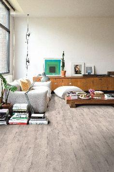 Laminate flooring with a concrete look - Quick-Step Laminate