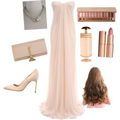 A fashion look from August 2014 featuring pink evening gowns, pointed-toe pumps and pink clutches. Browse and shop related looks. Pink Evening Gowns, Pink Clutch, Pointed Toe Pumps, Fashion Looks, Polyvore, Image, Pink Quinceanera Dresses, Pink Evening Dress, Pink Wedding Gowns