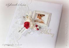 Скрапбукинг Свадьба Ассамбляж Фотоальбом и книга пожеланий Бумага Ткань фото 3
