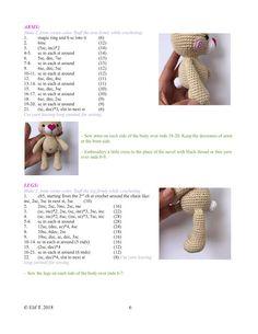 Crochet Diy, Easter Crochet, Crochet Patterns Amigurumi, Funny Animal Pictures, Crochet Animals, Baby Toys, Rabbit, Cute Animals, Bunny