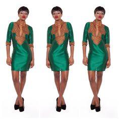 AJAH 3 Kaftan African Dress by AFRICANISEDSHOP on Etsy