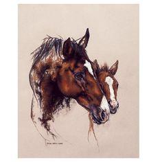 Comfort Art Print by Karen Davies and Equestrian Art | EQUESTRIAN COLLECTIONS.COM
