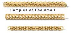 Chainmail Weaves List and Tutorials from Jem Library.com