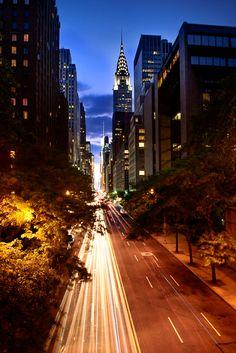 Sunset, New York City, NY
