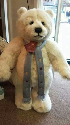 Oso con bufanda