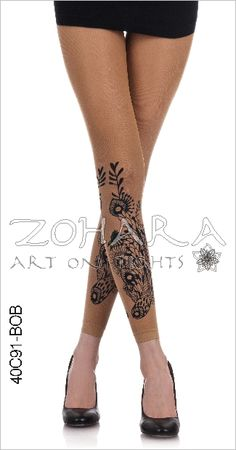 Merona For Target Tights Black Patterned Footless Tights Geometric Circles NIP
