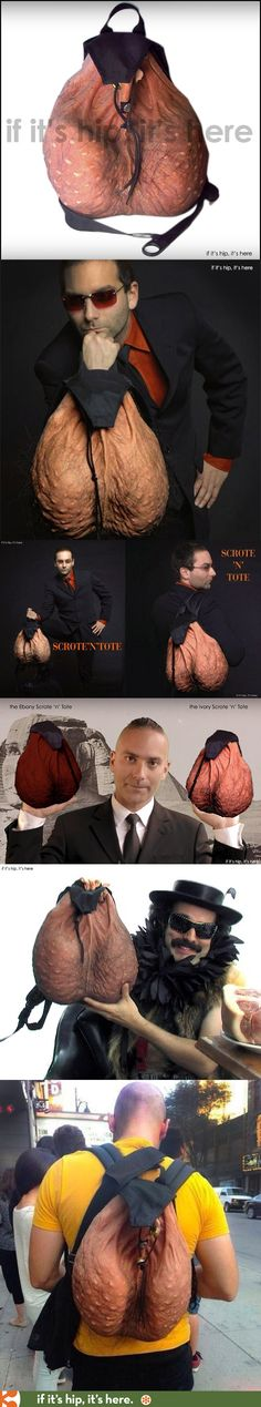 The Scrote 'n' Tote Nut Sack Backpack You Can Buy. For Reals. - See more at: http://www.ifitshipitshere.com/scrote-n-tote-backpack/#sthash.jMouidwo.dpuf