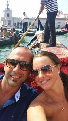Selfie on the gondola. .