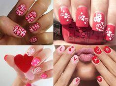 Mooie nagels met Valentijn |