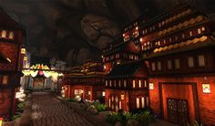 Cavern city,The final scene was rendered in UDK.