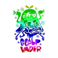 Awesome 'Globp+Vader' design on TeePublic!