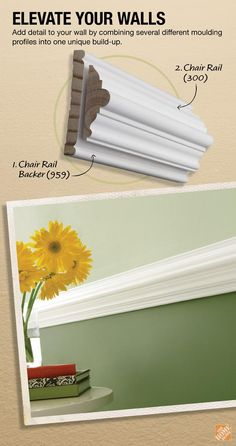 30 Chair Rail Molding Ideas Chair Rail Chair Rail Molding Moldings And Trim