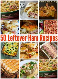 50 Leftover Ham Recipes