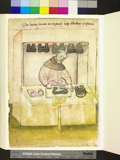 Mendel Housebook, Amb. 317.2° Folio 38 verso, c 1425, Nuremberg (Nürnberg)