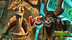 Kung Fu Panda 3 - Master Oogway vs Kai. Absolutely beautiful animation