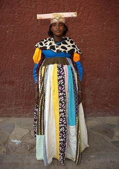 Miss Betomundo, Herero tribe Namibia | von Eric Lafforgue