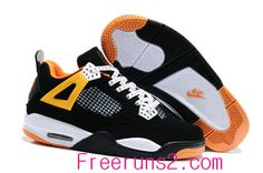 best service cf328 c8f7b Find Discount Nike Air Jordan 4 Kids Black White Orange Shoes online or in  Footlocker. Shop Top Brands and the latest styles Discount Nike Air Jordan  4 Kids ...