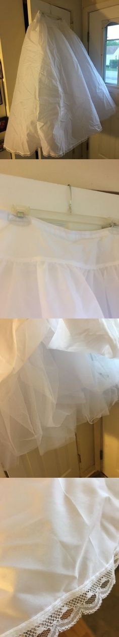 Slips Petticoats and Hoops 98745: Cinderella Bridal Slip White New- M -> BUY IT NOW ONLY: $40 on eBay!