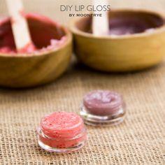DIY Lip Gloss by Moonfrye.com
