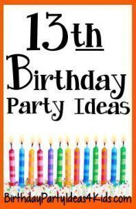 23 Best Ideas For Birthday Party Ideas For Teens Girls 13 Year