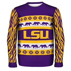 LSU Tigers Ugly Sweaters