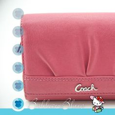 Coach Wallet - Pink