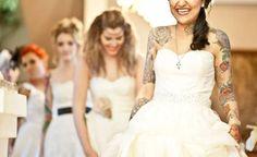 Oggi spose: abito bianco e tatuaggi, le nozze nell'era social