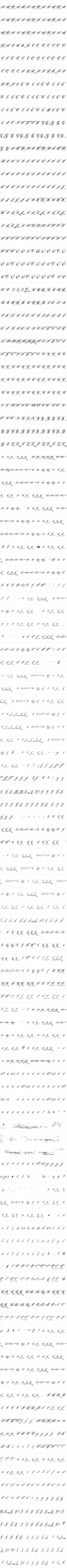 Piel Script-Anamazing amount of variations in one font. Great to play around with! Script Alphabet, Calligraphy Alphabet, Police, Graffiti Tagging, Chalk Lettering, Flourishes, Writing Tips, Handwriting, Tattoo Ideas