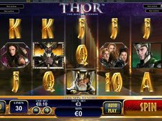 Thor - http://freeslots77.com/thor/ - Are you desperate to get bolstered through action-rich online slots? Then play free Thor slot online game. It is the Playtech's creation comprising of 5 reels and 30 paylines. The sequences are the replications of the film The Dark World. During the slot machine adventure, you get to meet the T...
