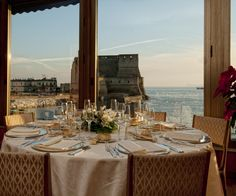 The views and victuals from this Italian waterfront hotel are nothing short of poetic.