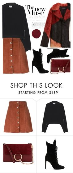 """""""Untitled #455"""" by jovana-p-com ❤ liked on Polyvore featuring Theory, Acne Studios, Chloé and Kendall + Kylie"""