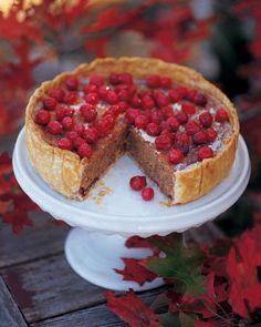 Cranberry, Almond, and Cinnamon Tart Recipe