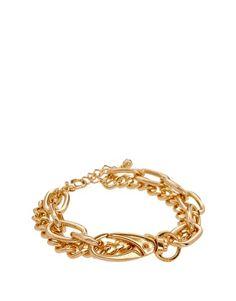ASOS Double Row Chain Bracelet