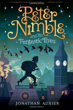 """Peter Nimble and His Fantastic Eyes""  by Jonathan Auxier.  This is the story of a blind 10-year-old orphan/thief in Dickens-era London who steals a box filled with three pairs of magical eyes.  With his best friend - an enchanted knight-horse-cat creature - he sets off  on an unforgettable, swashbuckling adventure."