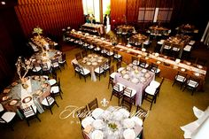 Scripps Seaside Forum | long table down the middle - an option, but neither of us like it :)